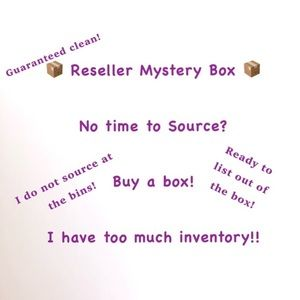 RESELLER 15PC Mystery BOX!! Ready to List! XS-M